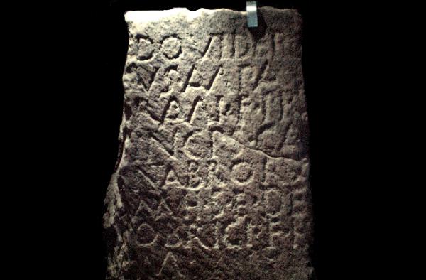 Estela funeraria de Dovidero - Princeps Cantabrorum